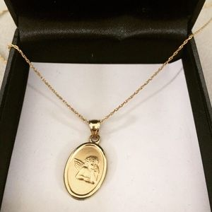 Jewelry - Angel pendant charm necklace
